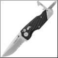 Gerber Obsidian Serrated Edge Drop Point Knife